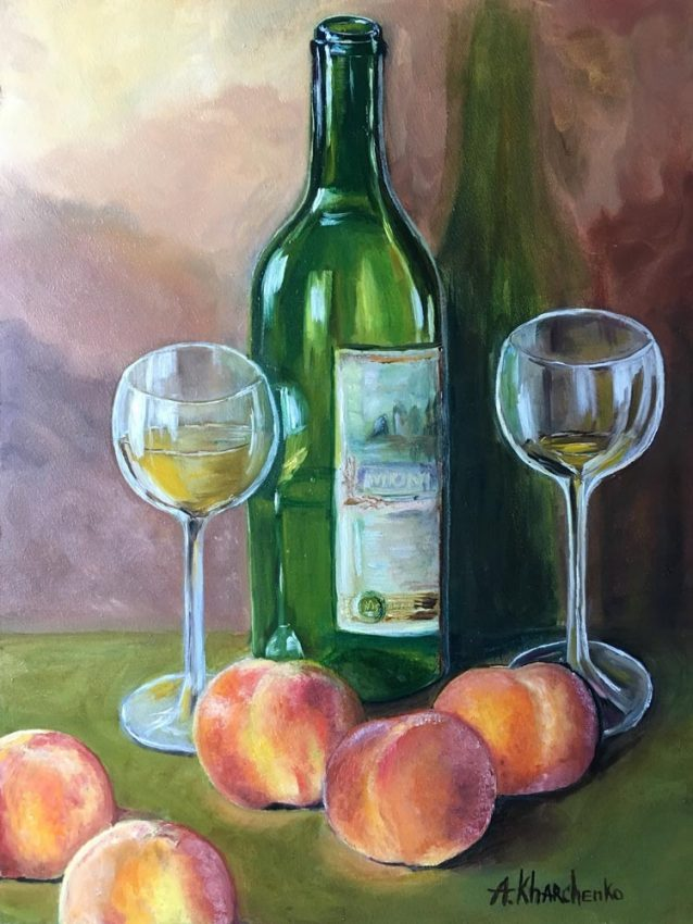 PEACHES & WINE